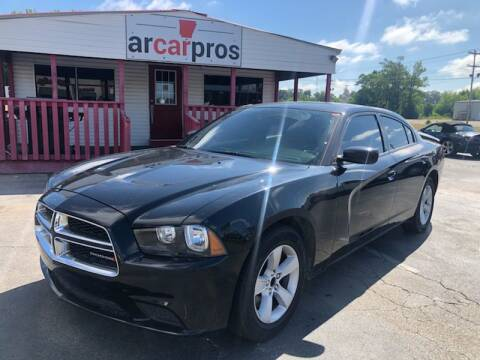 2014 Dodge Charger SE for sale at Arkansas Car Pros in Cabot AR
