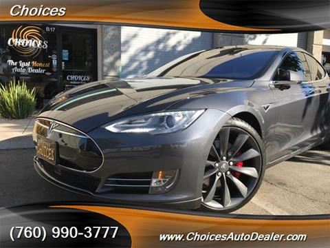 2015 Tesla Model S for sale in Temecula, CA