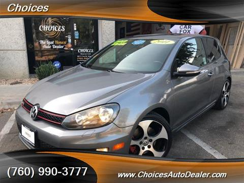 2011 Volkswagen GTI for sale in Temecula, CA