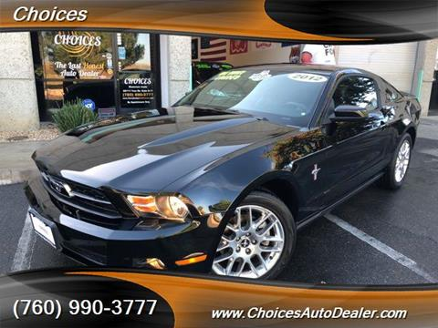 2012 Ford Mustang for sale in Temecula, CA