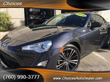 2015 Scion FR-S for sale in Temecula, CA