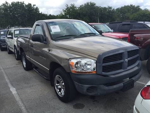 2006 Dodge Ram Pickup 1500 for sale in Hollywood FL