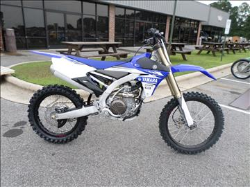 2017 Yamaha YZ450F for sale in Greenville, NC
