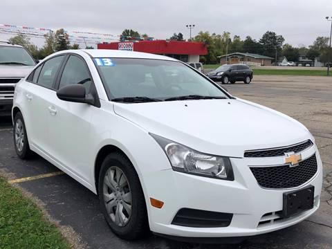 2013 Chevrolet Cruze for sale in Lapeer, MI