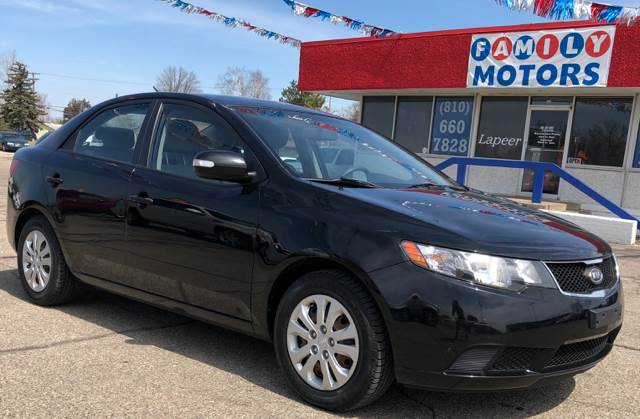 2010 Kia Forte For Sale At FAMILY MOTORS OF LAPEER In Lapeer MI