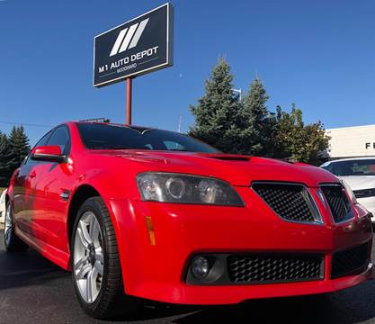 2009 Pontiac G8 for sale in Pontiac, MI