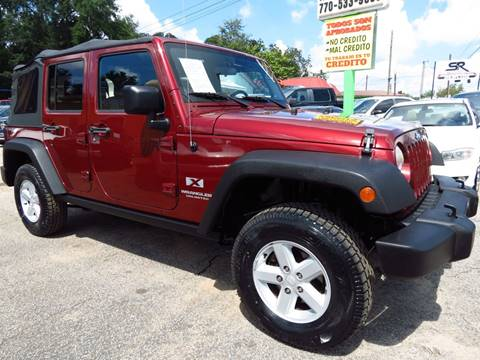 2007 Jeep Wrangler Unlimited for sale in Gainesville, GA