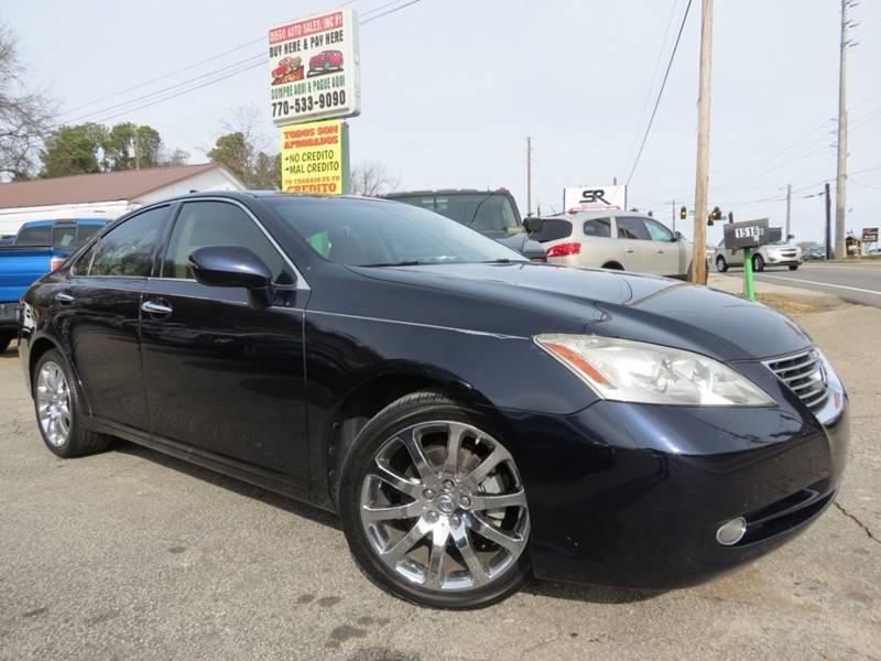 Diego Auto Sales >> 2007 Lexus Es 350 In Gainesville Ga Diego Auto Sales 1