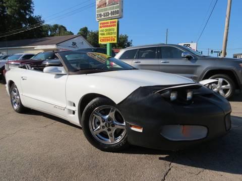 2002 Pontiac Firebird for sale in Gainesville, GA
