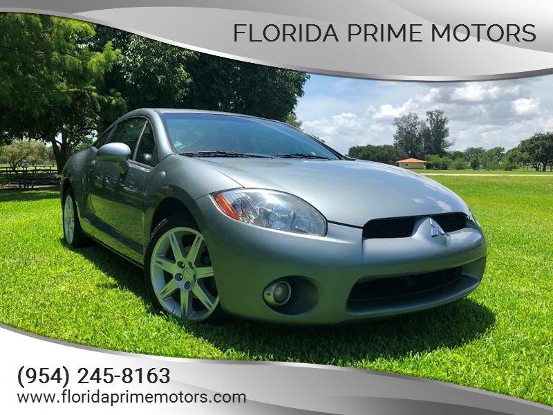 2007 mitsubishi eclipse gt in hollywood fl - florida prime motors