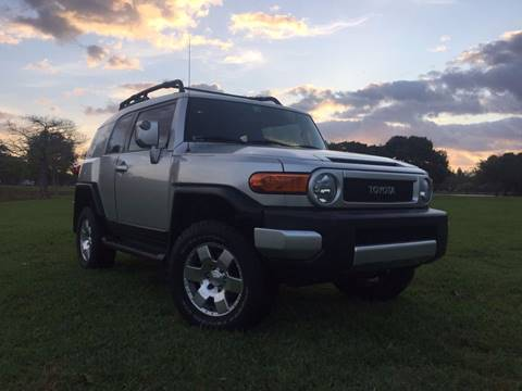 2007 Toyota FJ Cruiser for sale in Hollywood, FL