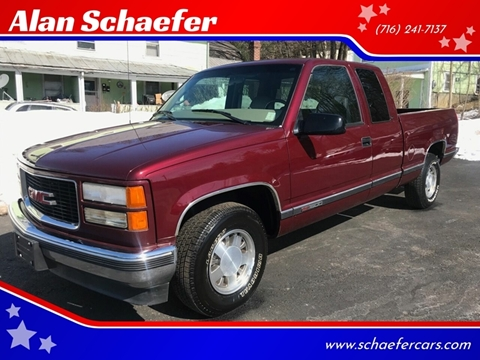 1997 GMC Sierra 1500 for sale in Gowanda, NY