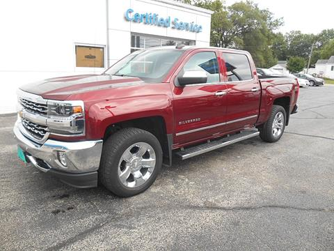 2016 Chevrolet Silverado 1500 for sale in Savanna IL