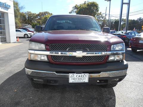 2003 Chevrolet Silverado 1500 for sale in Savanna, IL