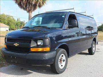 2013 Chevrolet Express Cargo for sale in Hallandale, FL
