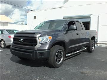 2015 Toyota Tundra for sale in Hallandale, FL