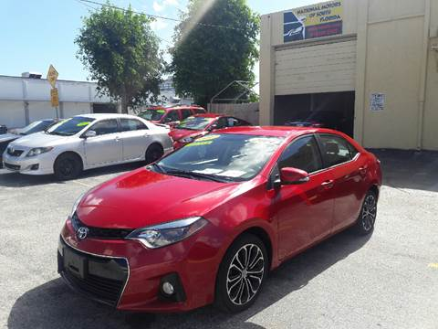2014 Toyota Corolla for sale in Hallandale, FL