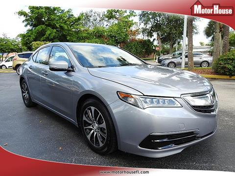 2015 Acura TLX for sale in Plantation, FL