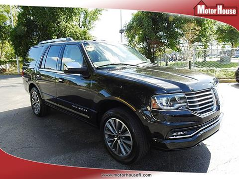 2015 Lincoln Navigator for sale in Plantation, FL