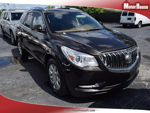 2014 Buick Enclave for sale in Plantation, FL
