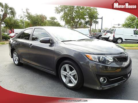 2014 Toyota Camry for sale in Plantation, FL