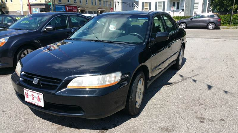 2000 Honda Accord For Sale At Union St Auto Sales In Manchester NH