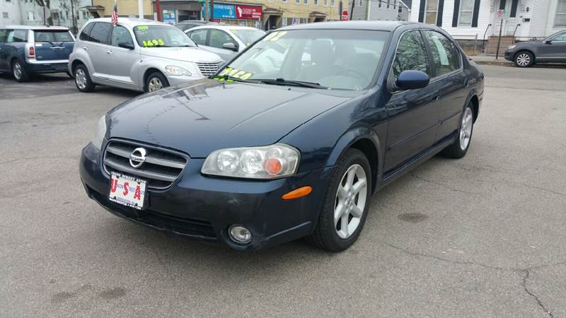 2002 Nissan Maxima For Sale At Union St Auto Sales In Manchester NH