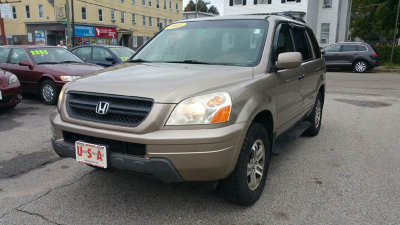2003 Honda Pilot For Sale At Union St Auto Sales In Manchester NH