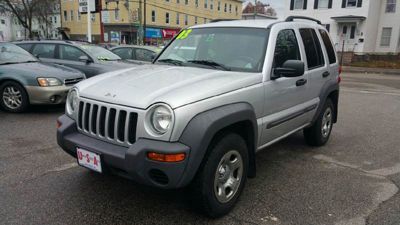 2003 Jeep Liberty Sport In Manchester NH - Union St Auto Sales