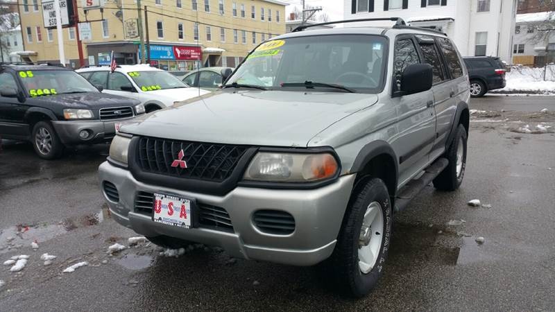 Exceptional 2000 Mitsubishi Montero Sport For Sale At Union St Auto Sales In Manchester  NH