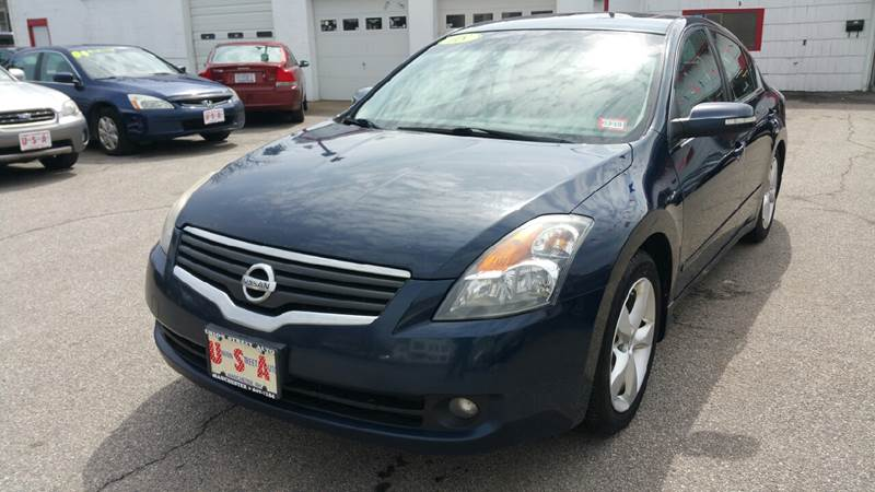 Elegant 2008 Nissan Altima For Sale At Union St Auto Sales In Manchester NH