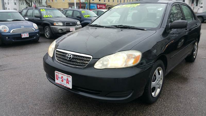 2006 Toyota Corolla For Sale At Union St Auto Sales In Manchester NH
