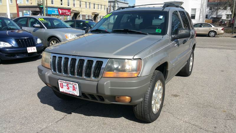 2001 Jeep Grand Cherokee For Sale At Union St Auto Sales In Manchester NH