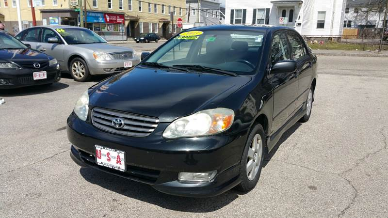 2003 Toyota Corolla For Sale At Union St Auto Sales In Manchester NH