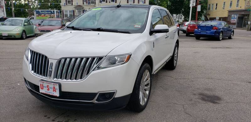 2013 Lincoln MKX for sale at Union Street Auto in Manchester NH
