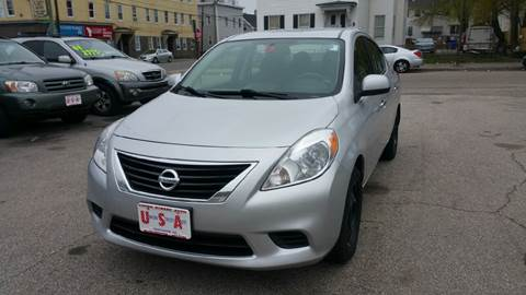 2012 Nissan Versa for sale in Manchester, NH