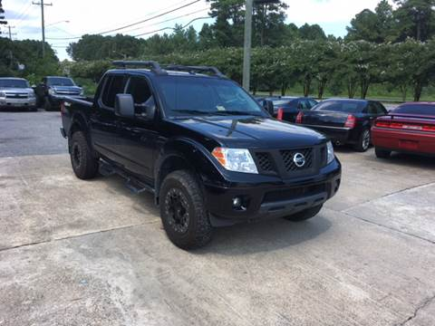 2013 Nissan Frontier for sale at Oceana Motors in Virginia Beach VA