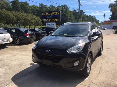 2013 Hyundai Tucson for sale at Oceana Motors in Virginia Beach VA