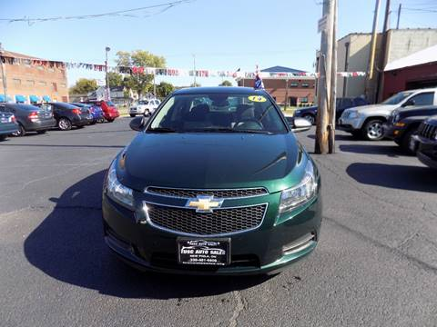 2014 Chevrolet Cruze for sale in New Philadelphia, OH