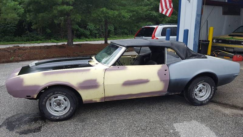 1968 Chevrolet Camaro for sale at LMJ AUTO AND MUSCLE in York PA