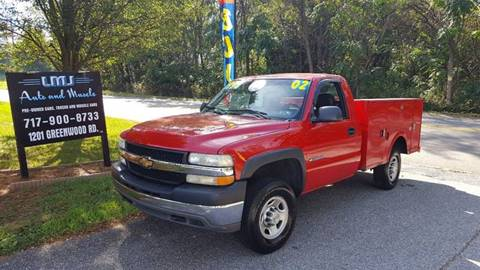 2002 Chevrolet Silverado 2500HD for sale at LMJ AUTO AND MUSCLE in York PA