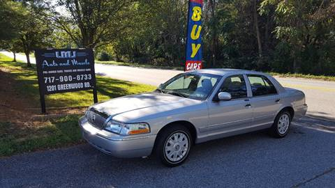 2005 Mercury Grand Marquis for sale at LMJ AUTO AND MUSCLE in York PA