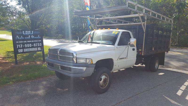 1998 Dodge Ram Pickup 3500 for sale at LMJ AUTO AND MUSCLE in York PA