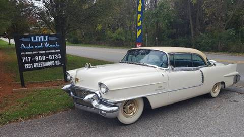 1956 Cadillac Eldorado for sale at LMJ AUTO AND MUSCLE in York PA