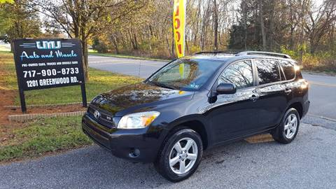 2007 Toyota RAV4 for sale at LMJ AUTO AND MUSCLE in York PA