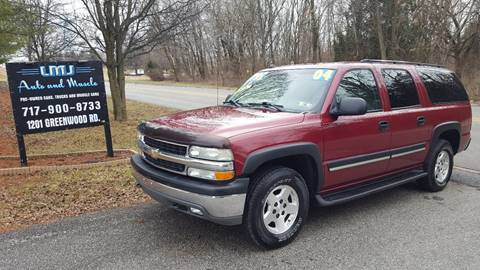 2004 Chevrolet Suburban for sale at LMJ AUTO AND MUSCLE in York PA
