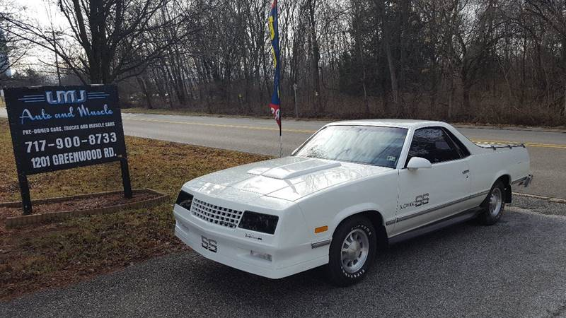 1987 Chevrolet El Camino for sale at LMJ AUTO AND MUSCLE in York PA