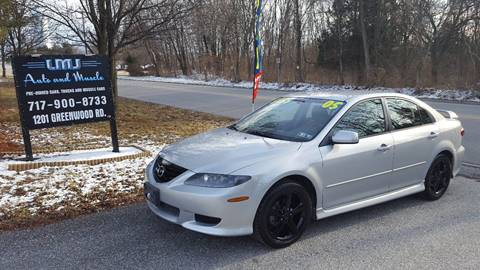 2005 Mazda MAZDA6 for sale at LMJ AUTO AND MUSCLE in York PA