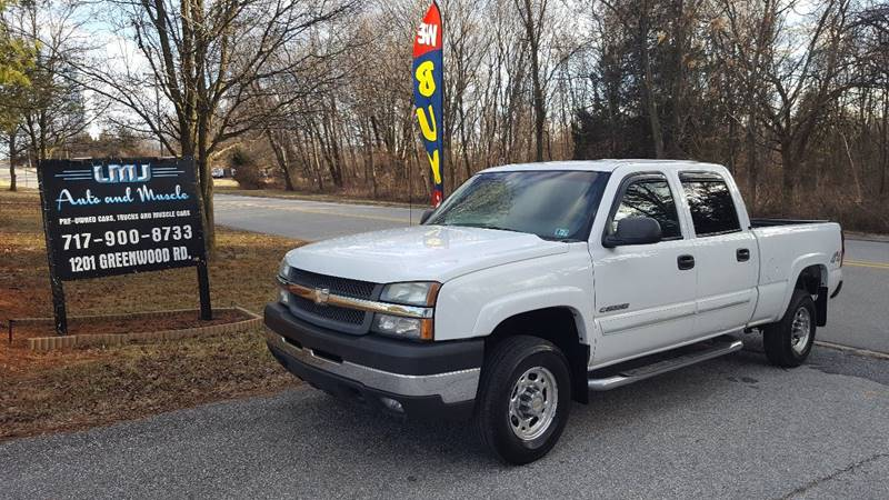 2006 Chevrolet Silverado 2500HD for sale at LMJ AUTO AND MUSCLE in York PA