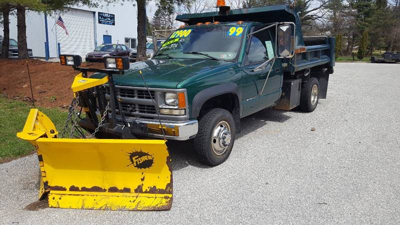 1999 Chevrolet C/K 3500 Series for sale at LMJ AUTO AND MUSCLE in York PA
